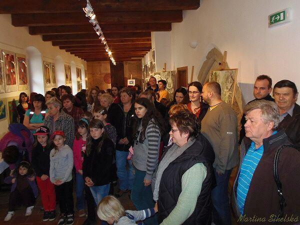 Valstníma rukama - výstava ZUŠ